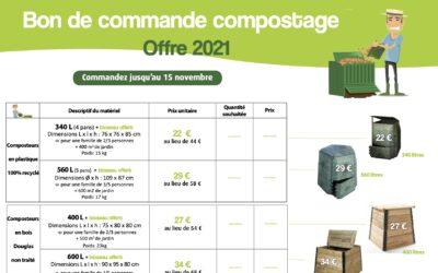 Campagne de vente de composteurs