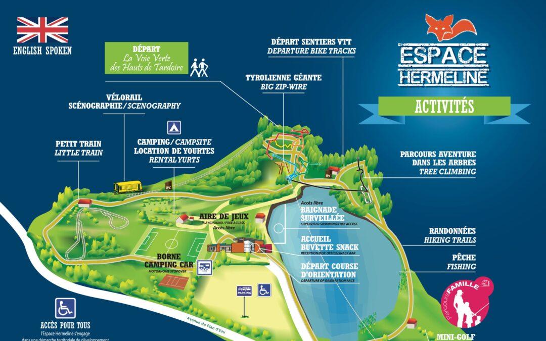 Étude touristique et accompagnement pour la dynamisation  de la base de loisirs « Espace Hermeline » sur la commune de  Bussière-Galant (87)