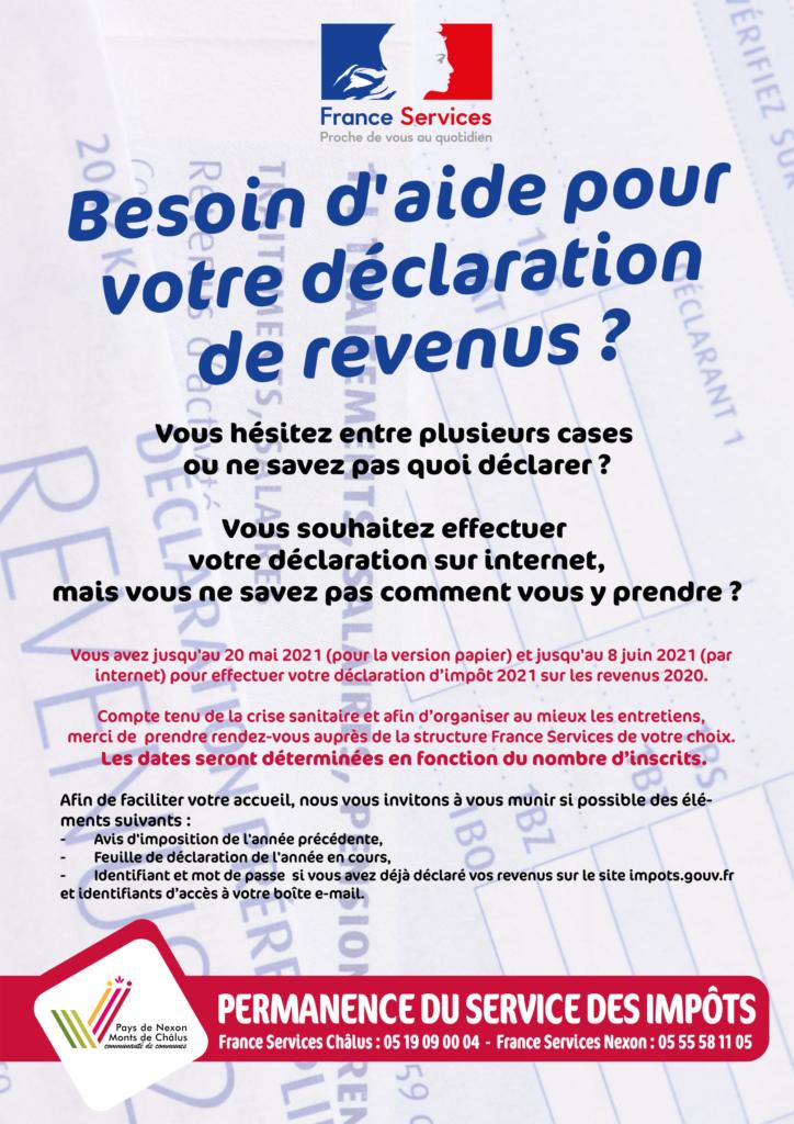 Affiche Impôts